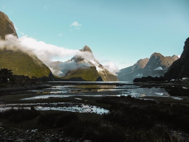 landscape, nz, mountain, sea - linusake | ello