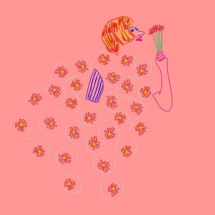 Una rosa para vos. Follow drawi - oscar_donado | ello