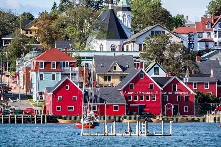 Lunenburg, Nova Scotia est. 175 - cassandrakosmayer | ello