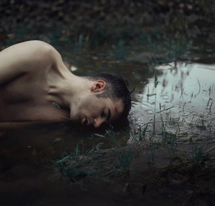 sergioheads, selfportrait, rain - sergioheads | ello