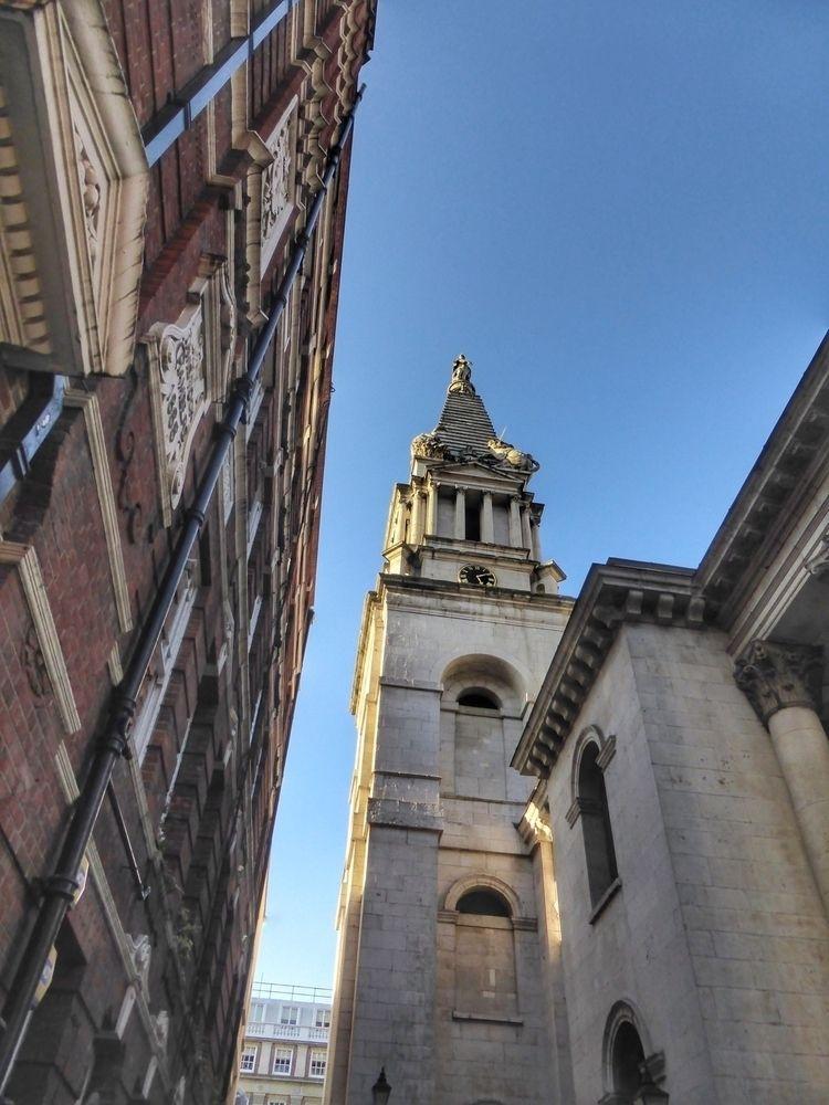 Church spire - London - paulbines   ello