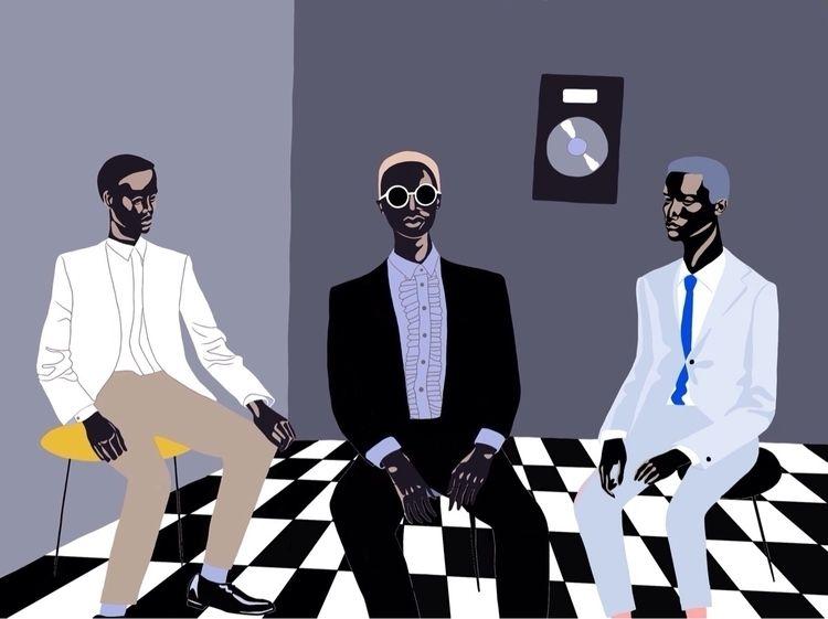 band, 2018 - art, illustration - jyxchen | ello