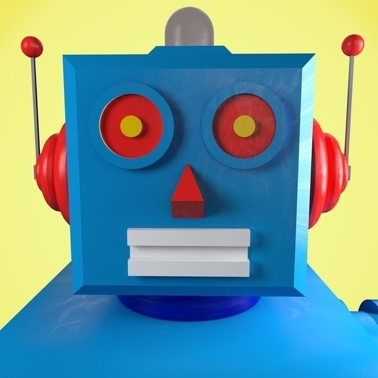 Intergalactiv Walk - 1, robot, toy - thecoolcyborg | ello