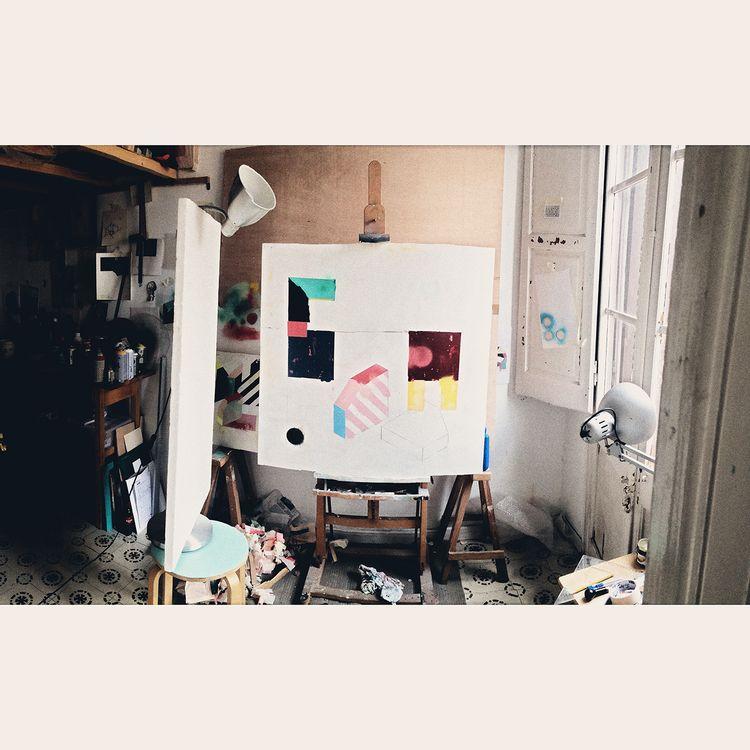 100x100cm. Studio. Barcelona - aruizvillar | ello