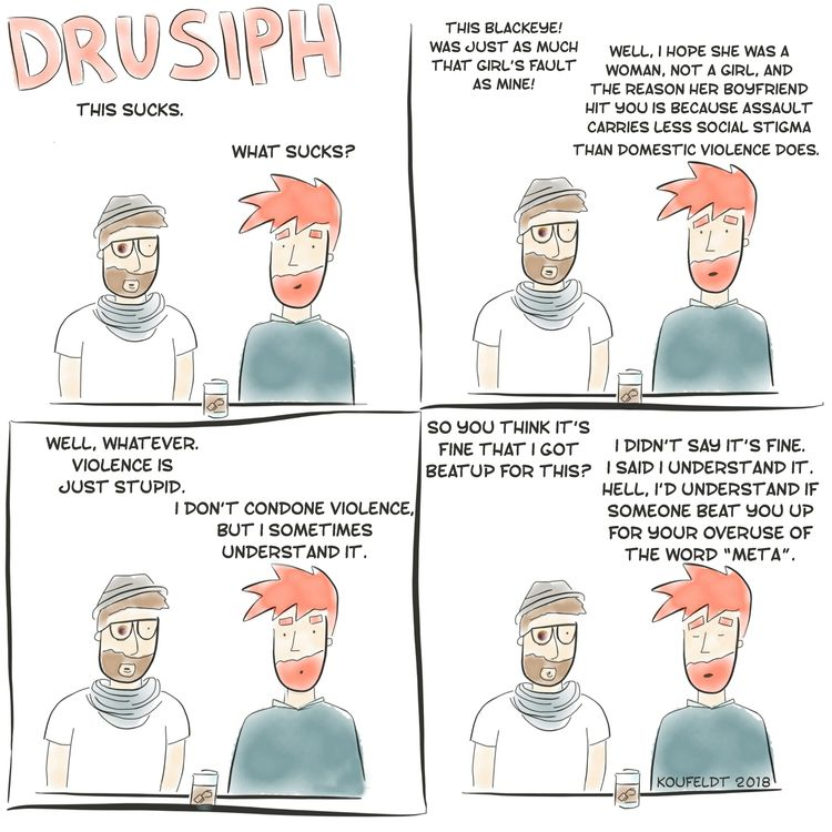 drusiph, friday, weekend, comic - drusiph | ello