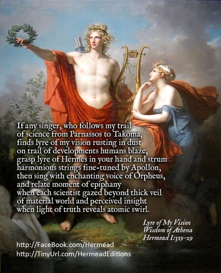 Lyre Vision Wisdom Athena Herme - surazeus | ello
