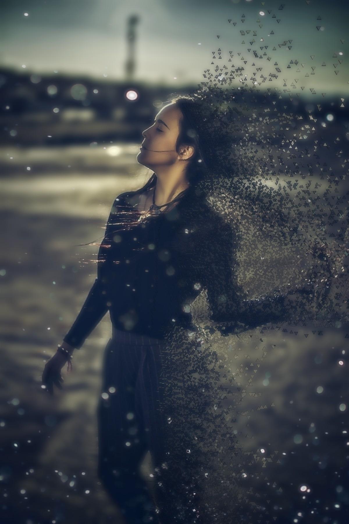 alba:nerd - mujer, girl, portrait - fotografiadl | ello