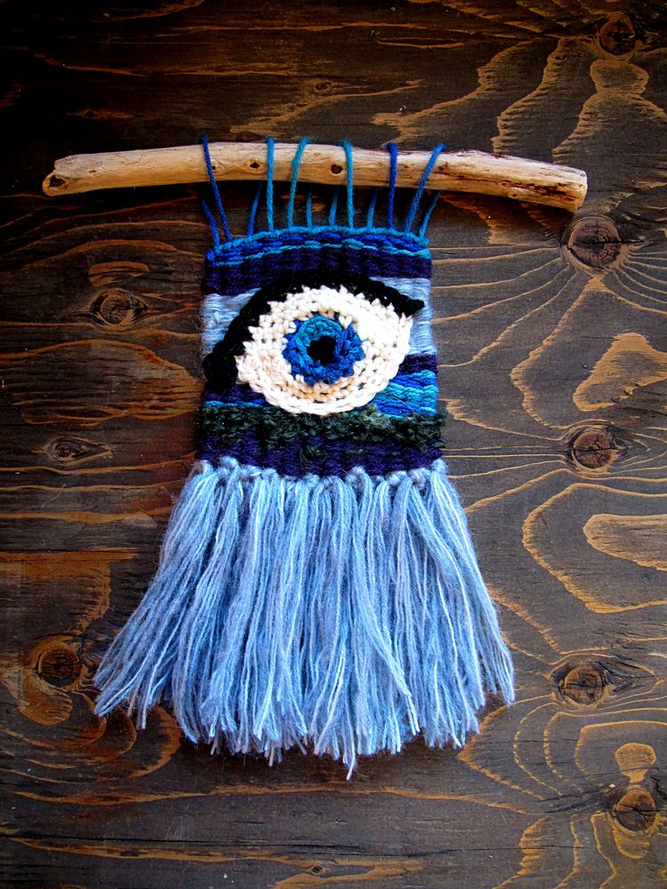 ~ Open Eyes free form crochet l - wildmoonchilddesigns | ello