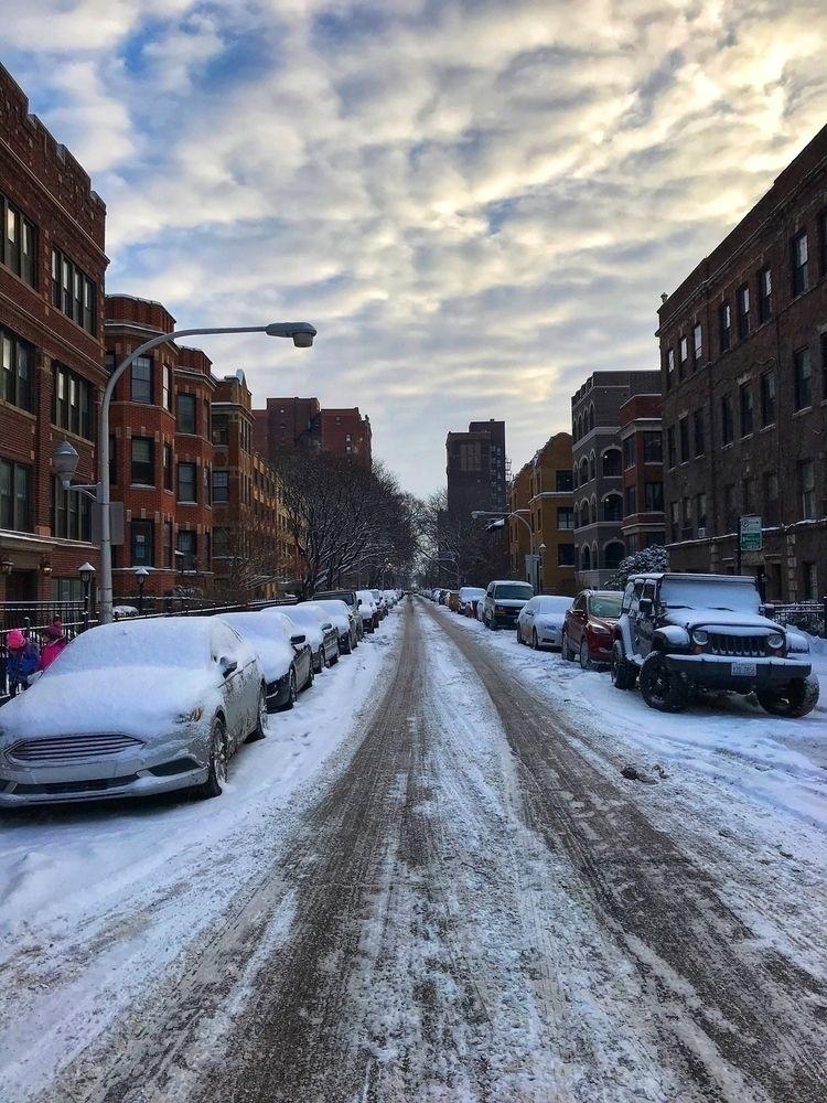 Yesterday morning - chicago, snow - scottterry   ello
