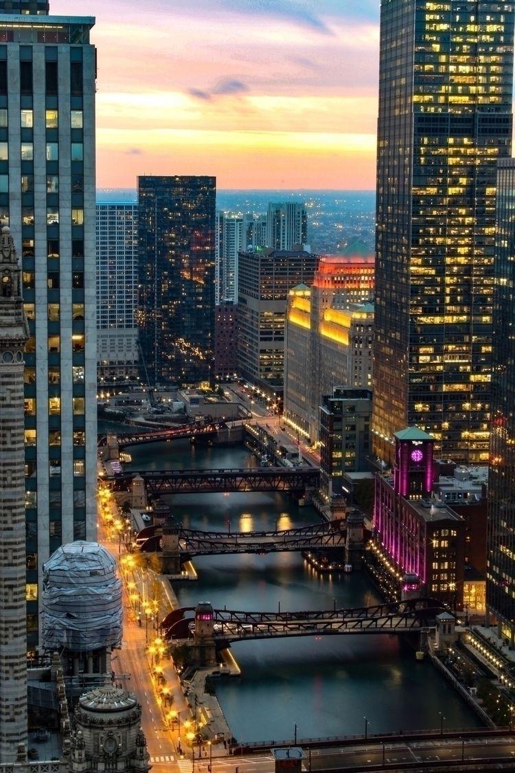 Hard Rock Hotel Chicago views.  - scottterry | ello