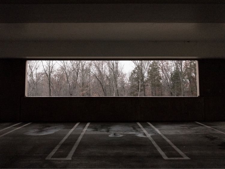 park - parkinggarage, winter, iphone - underflow | ello