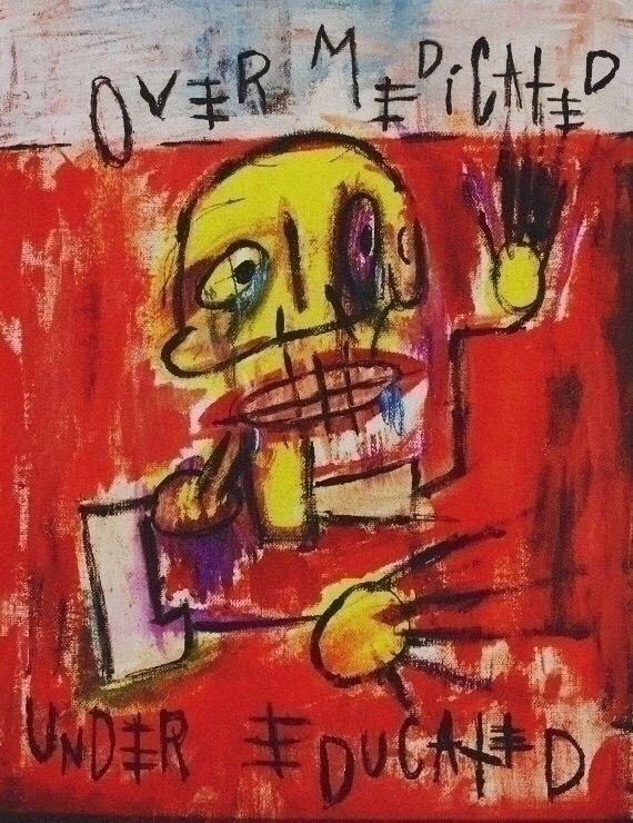 "Culture"" Robert Sims - expressionism - asims52   ello"