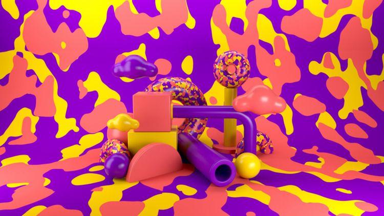 071 - AbstractShiz, cinema4d, design - hashmukh | ello