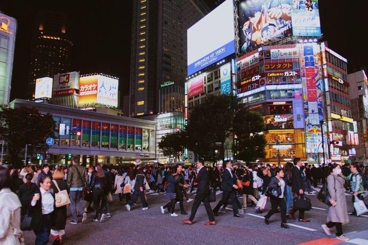 Shibuya Ginza, Tokyo • November - christophermounts | ello