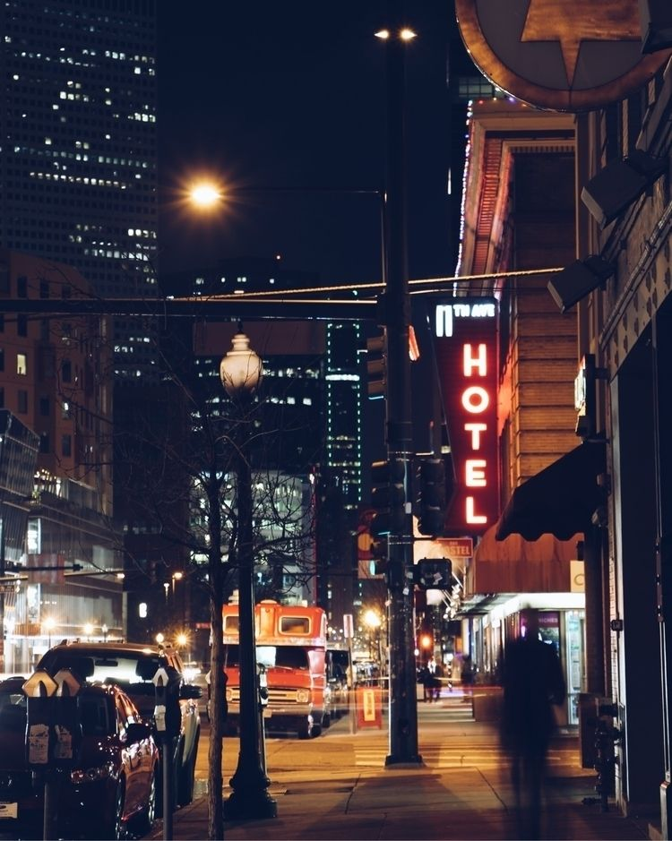 Long exposure night South Broad - tiffinyepiphany | ello