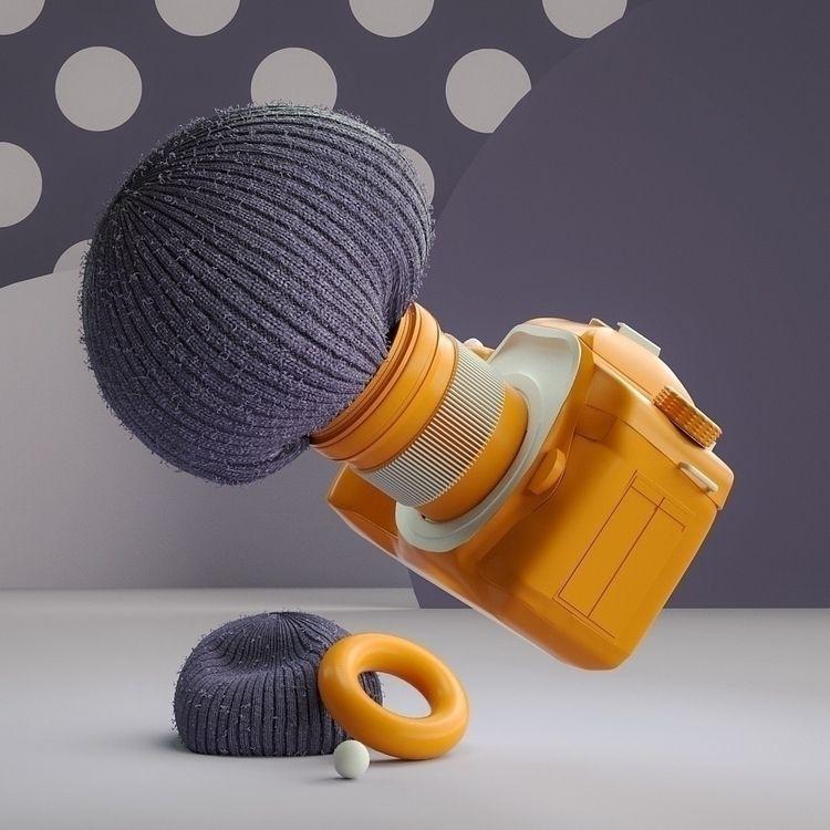 Synergy Pt. 4 - Cinema4D, 3D, Illustration - movki   ello