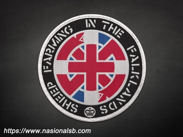 CRASS woven embroidery patch. I - nasional | ello