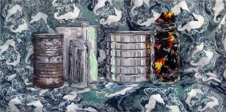 "14""x28"" canvas - oilpainting, stilllifepainting - mccarthyart | ello"