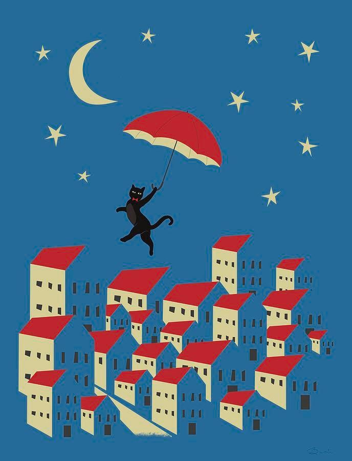 """Upton Cat Evening Adventures""  - littlebunnysunshine | ello"