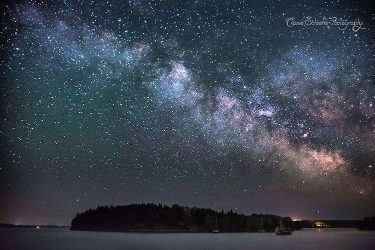 Diamond Sea - maine, stars, milkyway - chaseschiefer | ello