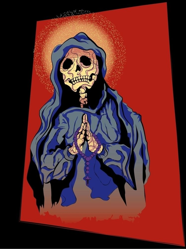 Prayers - illustration, design, colors - docbrownillustration   ello