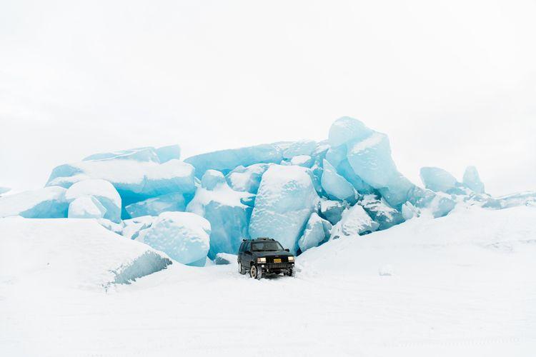 drove jeep Knik Glacier weekend - aphotosmith | ello