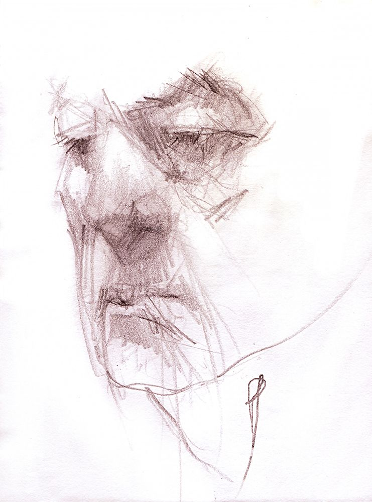 portrait,, sketch - jehanno | ello