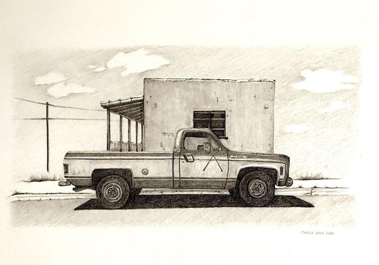 Mexico 1 | 12x16 graphite 2018 - magdalenasoko | ello