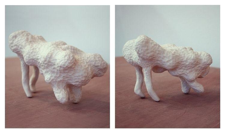 Créature ° 4 (2012). sculpture  - ameliebo | ello