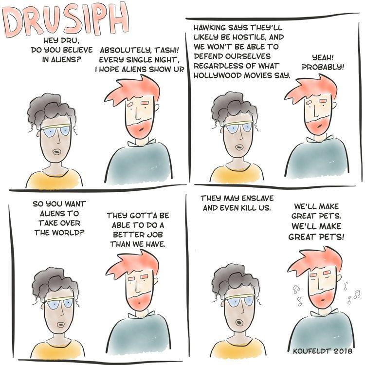 drusiph, monday, comics, comicstrip - drusiph | ello
