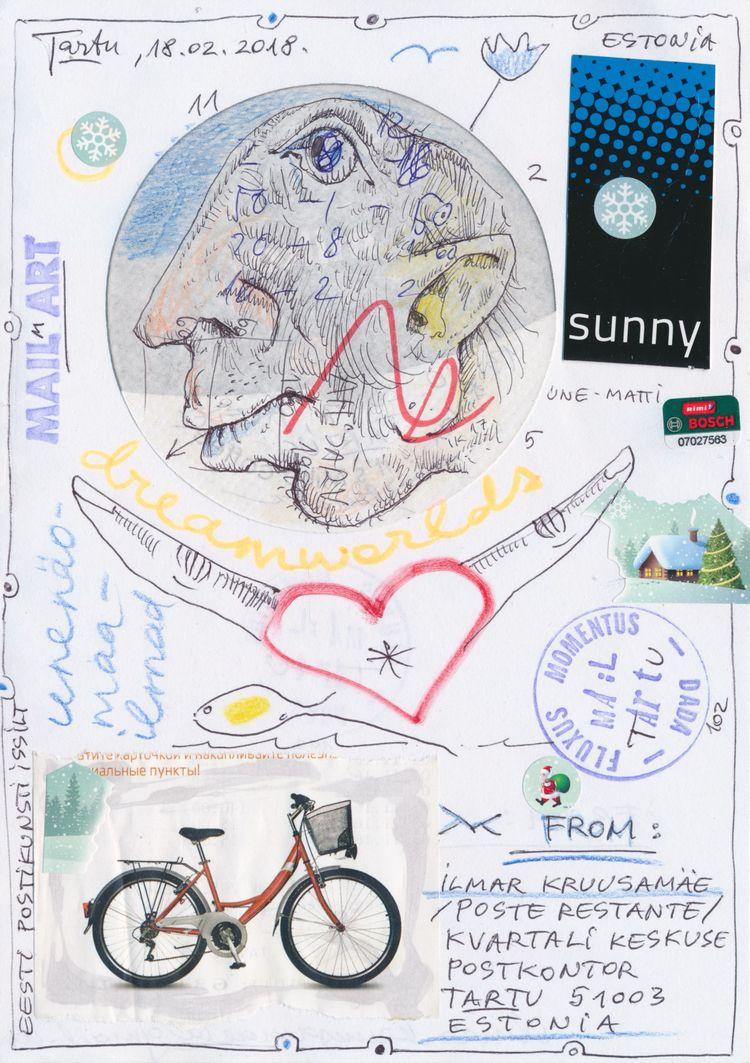 wonderful work Ilmar Kruusamäe - papiergedanken-collage-art | ello