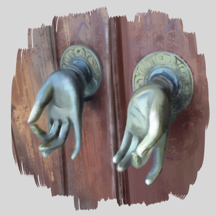 Doorknob Studies (References: 1 - melissalitian | ello