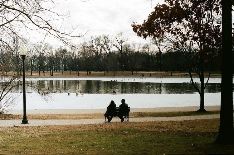 Lake side DC, shadow monuments - jeffmakuta   ello