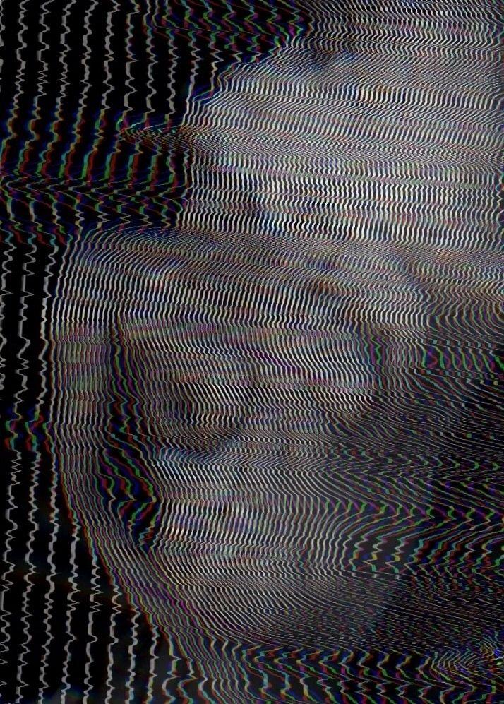 2018 - lines, distortion, glitchart - alejandraossa | ello