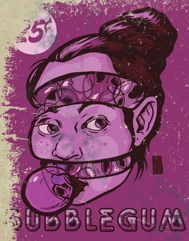 Bubble Gum Girl - thomcat23 | ello