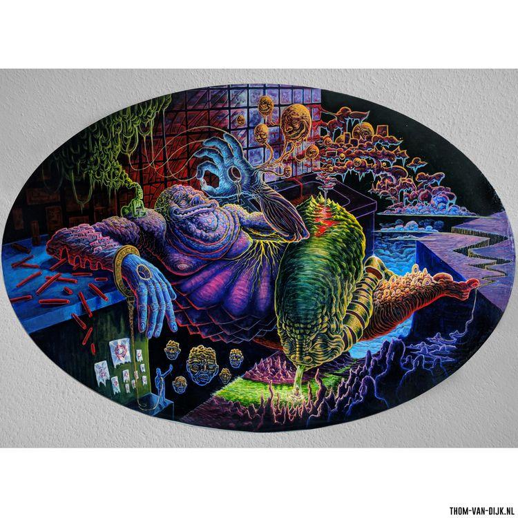 Thom van Dijk Dutch artist resi - thomvandijk | ello