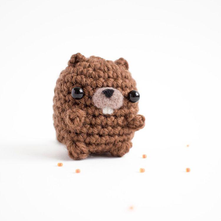 Amigurumi day 99 beaver - kind - mohu | ello