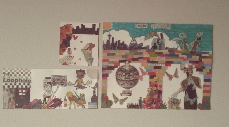 Top: City love Bottom left: Loo - carleigh_m | ello