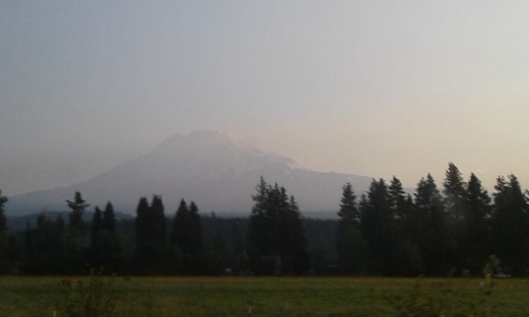 Beautiful Mt. Adams view Hwy. 1 - carleigh_m | ello