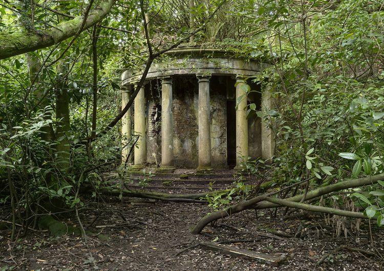 ruined classical colonnade long - forgottenheritage | ello