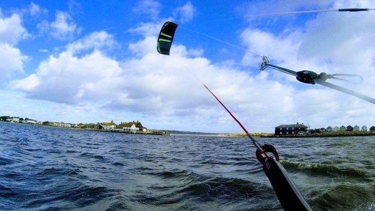 True blue - kitesurfing, gopro, photography - ellokitesurfers | ello