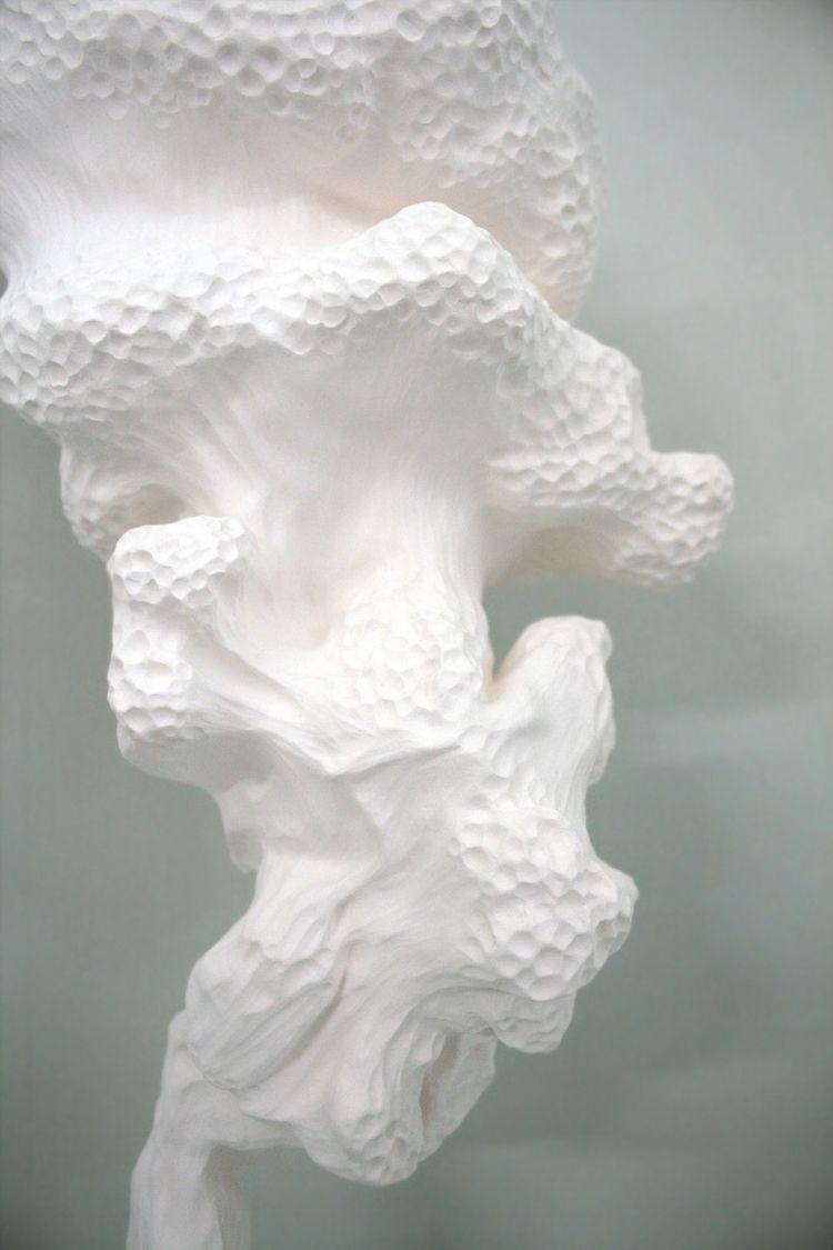 Fumée ° 3 - détail (2015). Céra - ameliebo   ello