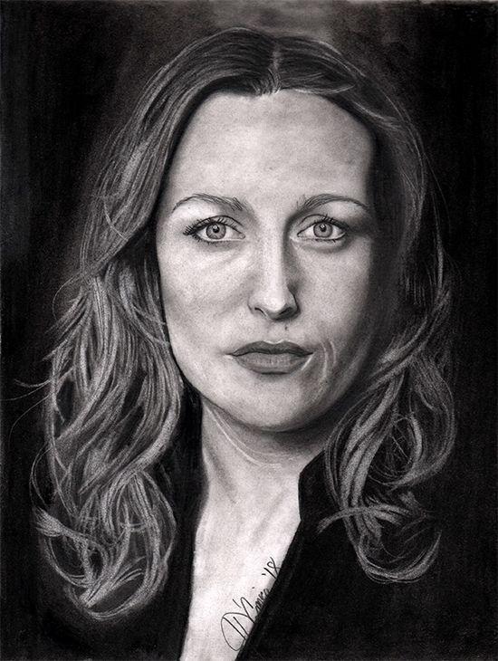 Scully (Gillian Anderson) 2B, 6 - pacarus | ello