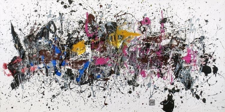 Artwork A80 acrylic canvas Year - damjanpavlovic | ello