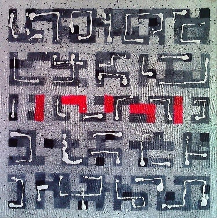 A16 (Contemporary abstract Spir - damjanpavlovic | ello