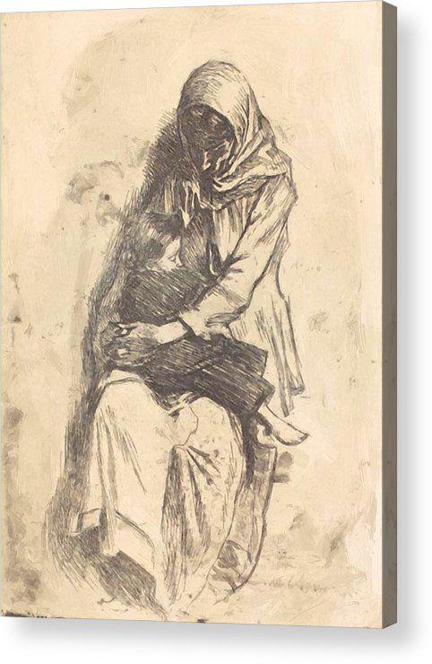 Refugees 1923 Acrylic Print - pixbreak | ello