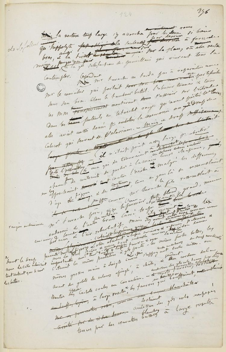 ARTIST: Gustave Flaubert Manusc - johnhopper   ello
