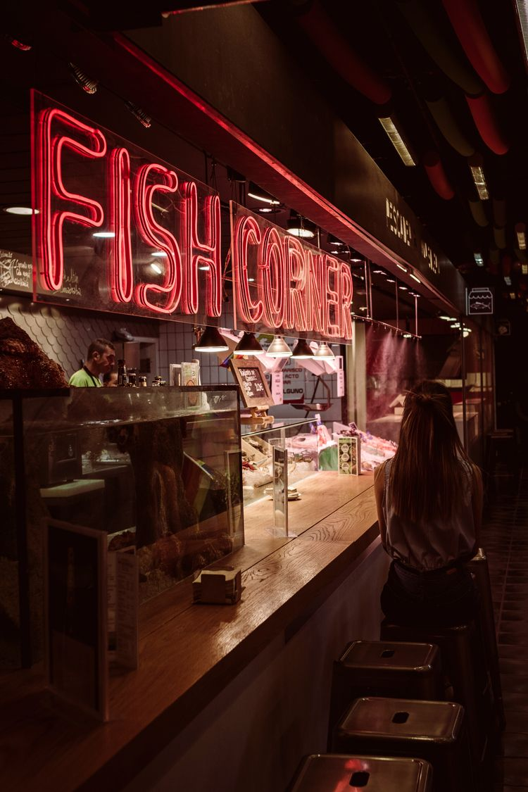 Fish Corner . - Madrid, Spain - fish - miguelvalentin | ello