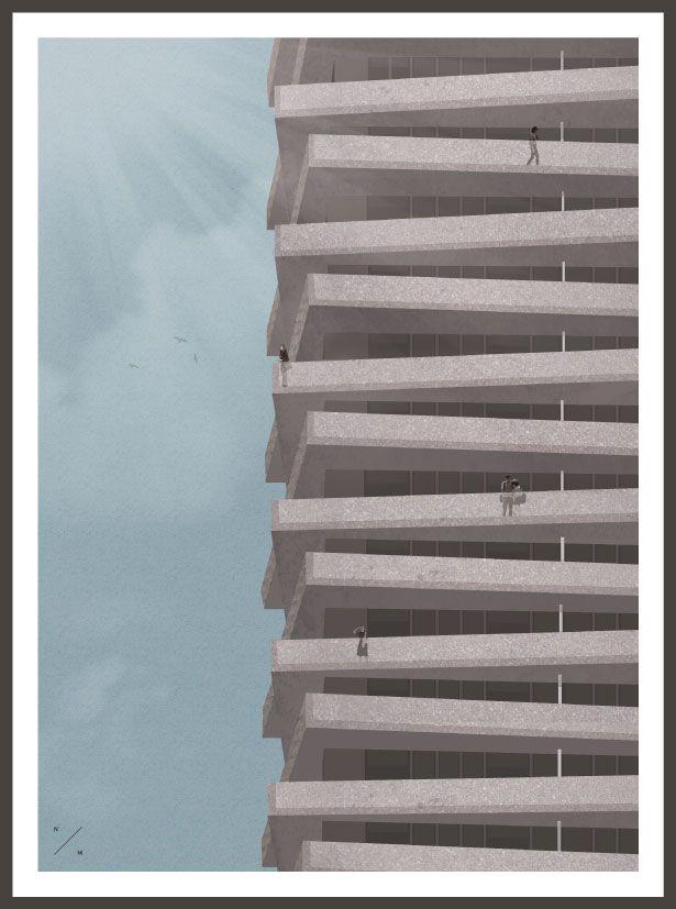 High Rise - illustration, Art, design - nadmad | ello