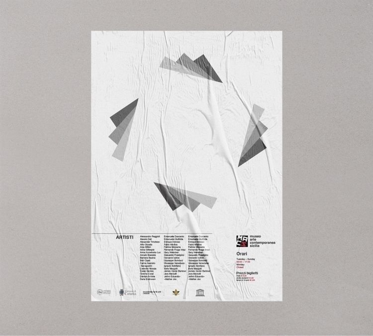—Poster MACS - Museo Arte Conte - antoniocalvino | ello